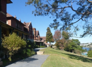 Gladesville Hospital - buildings & grounds