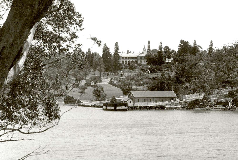 Lane Cove River & Villa Maria Wharf c1915