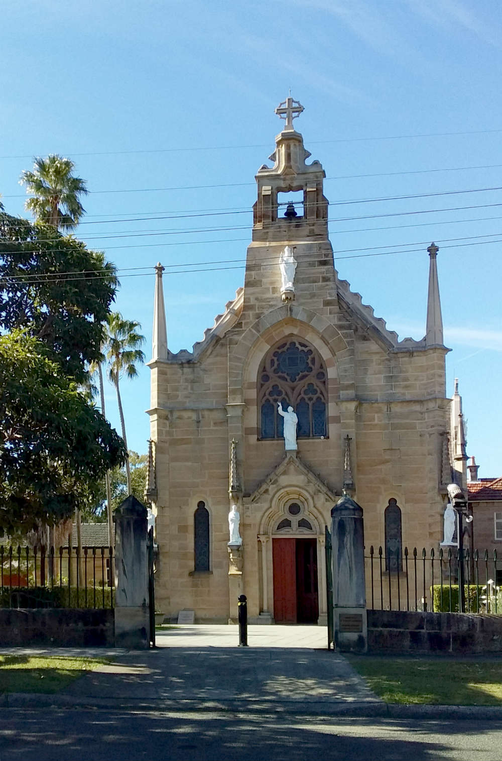 Holy Name of Mary Church and Monastery Mary Street