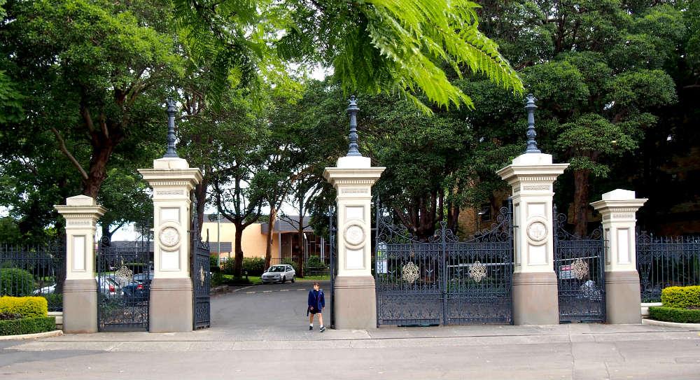 St Joseph's College Gates